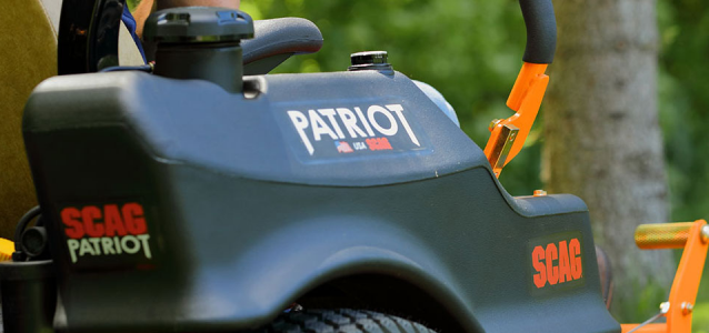 THE SCAG PATRIOT Lawn Mower