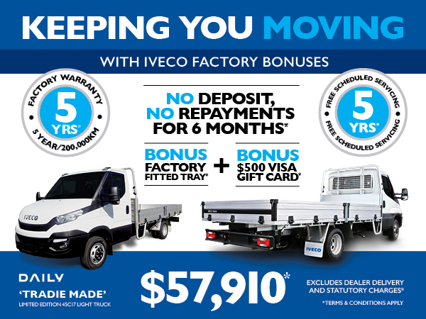 Iveco Daily Tradie Made