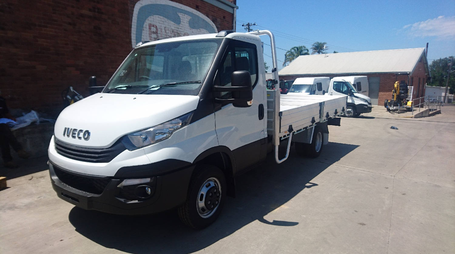 2019 Iveco Daily 45C17 Tradie Pak