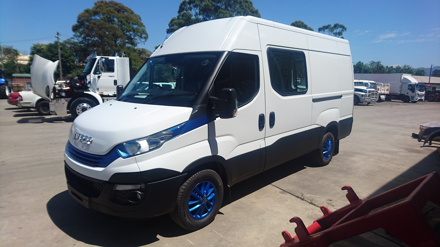 Iveco 35S17A8 Daily Van
