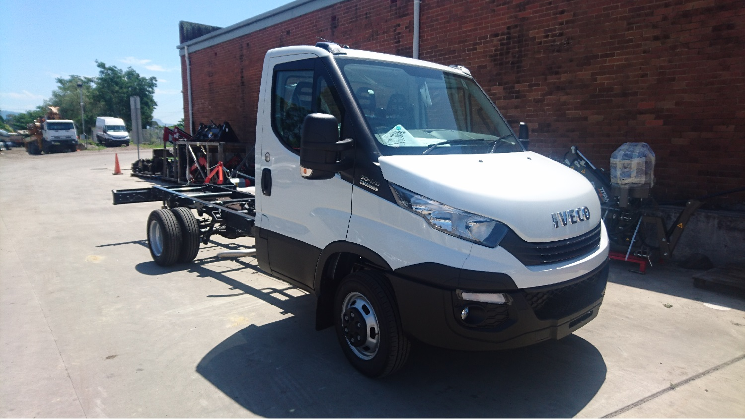 Iveco Daily 50C17A8 Cab Chassis