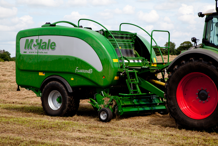 mchale fusion 3 rh truckandtractor com au Round Baler with Wrapper McHale Wrappers