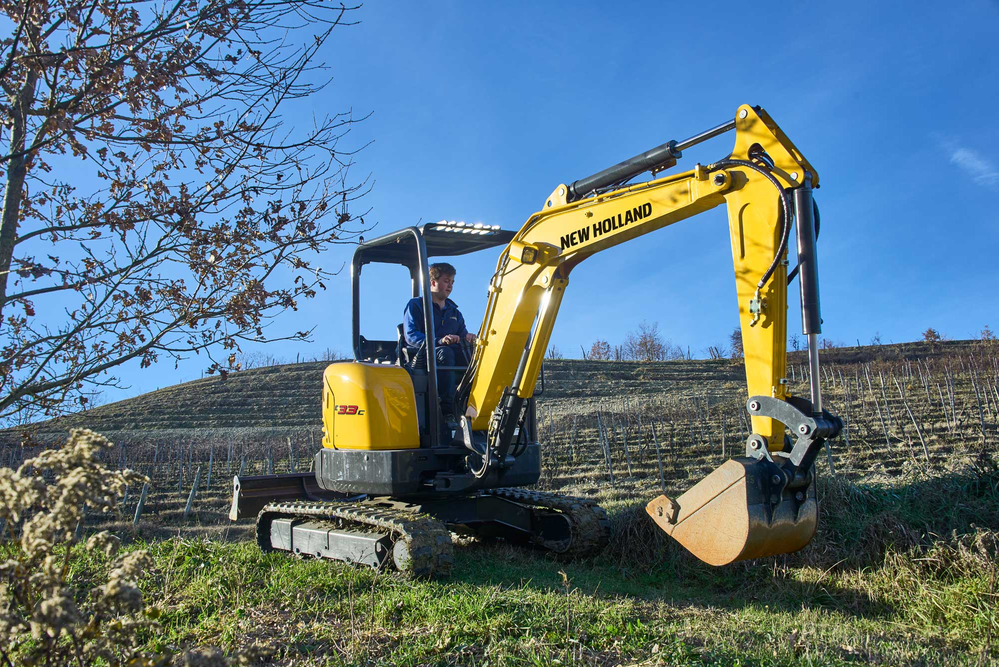 New Holland Compact Excavators - C-Series E33C