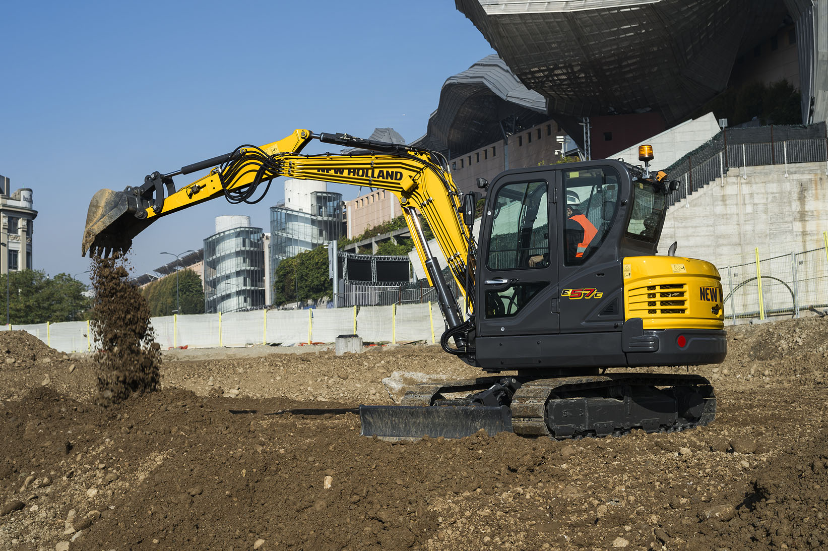 New Holland Compact Excavators - C-Series E57C