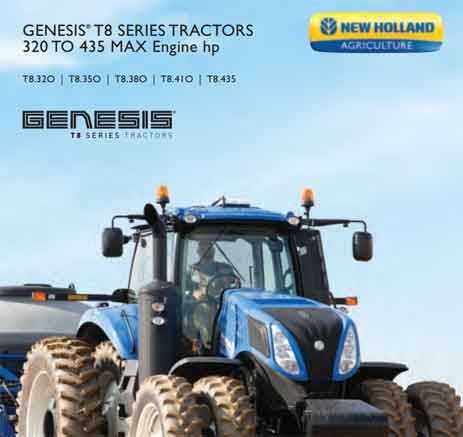 New Holland GENESIS® T8 - TIER 4B Tractor