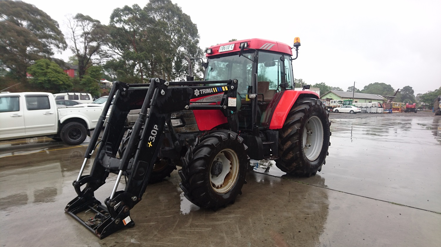 McCormick CX110 4WD Tractor