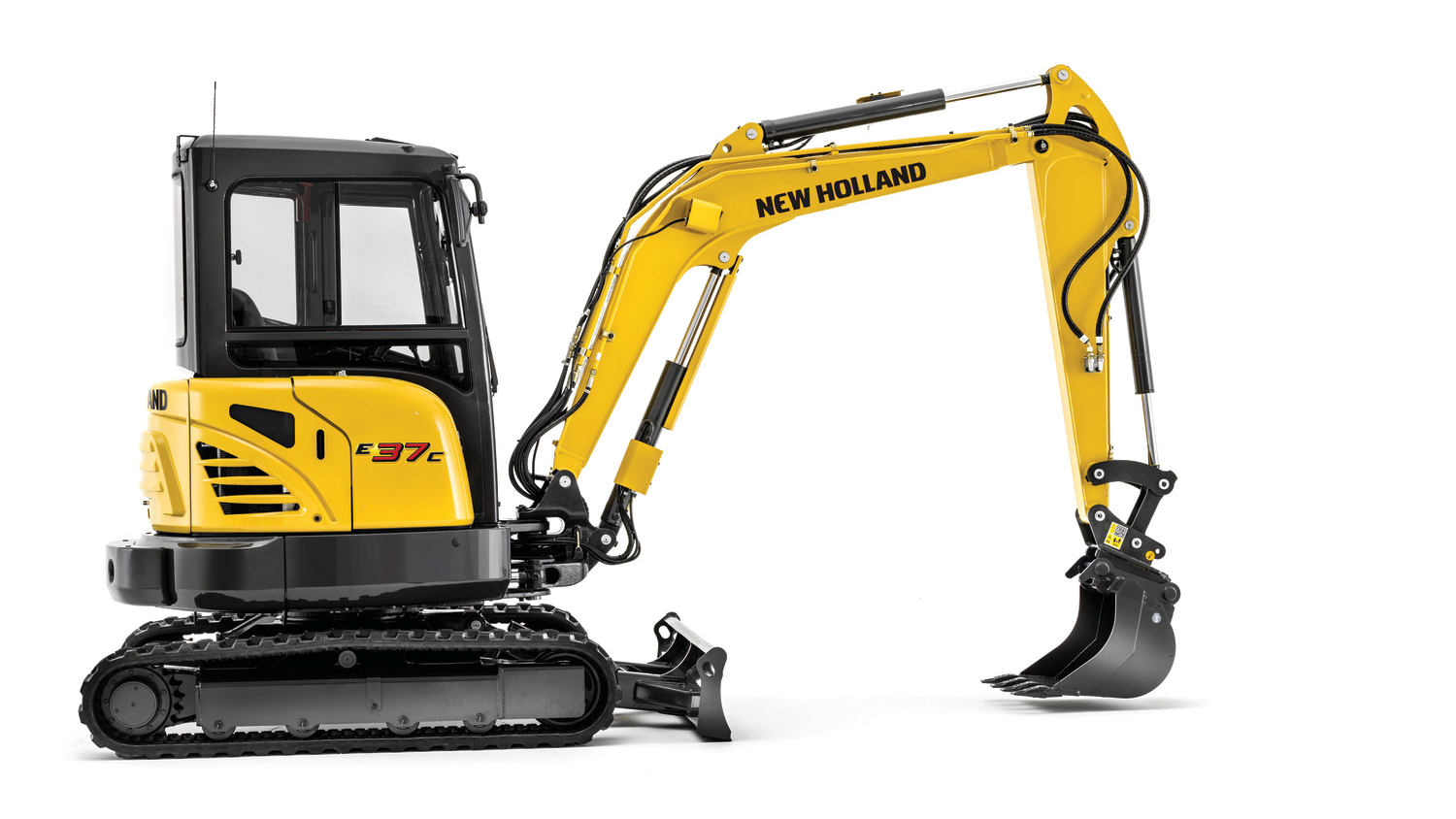 New Holland E37C Cab Compact Excavator