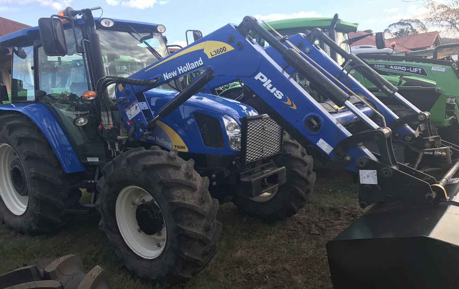New Holland T5060 Cab Tractor