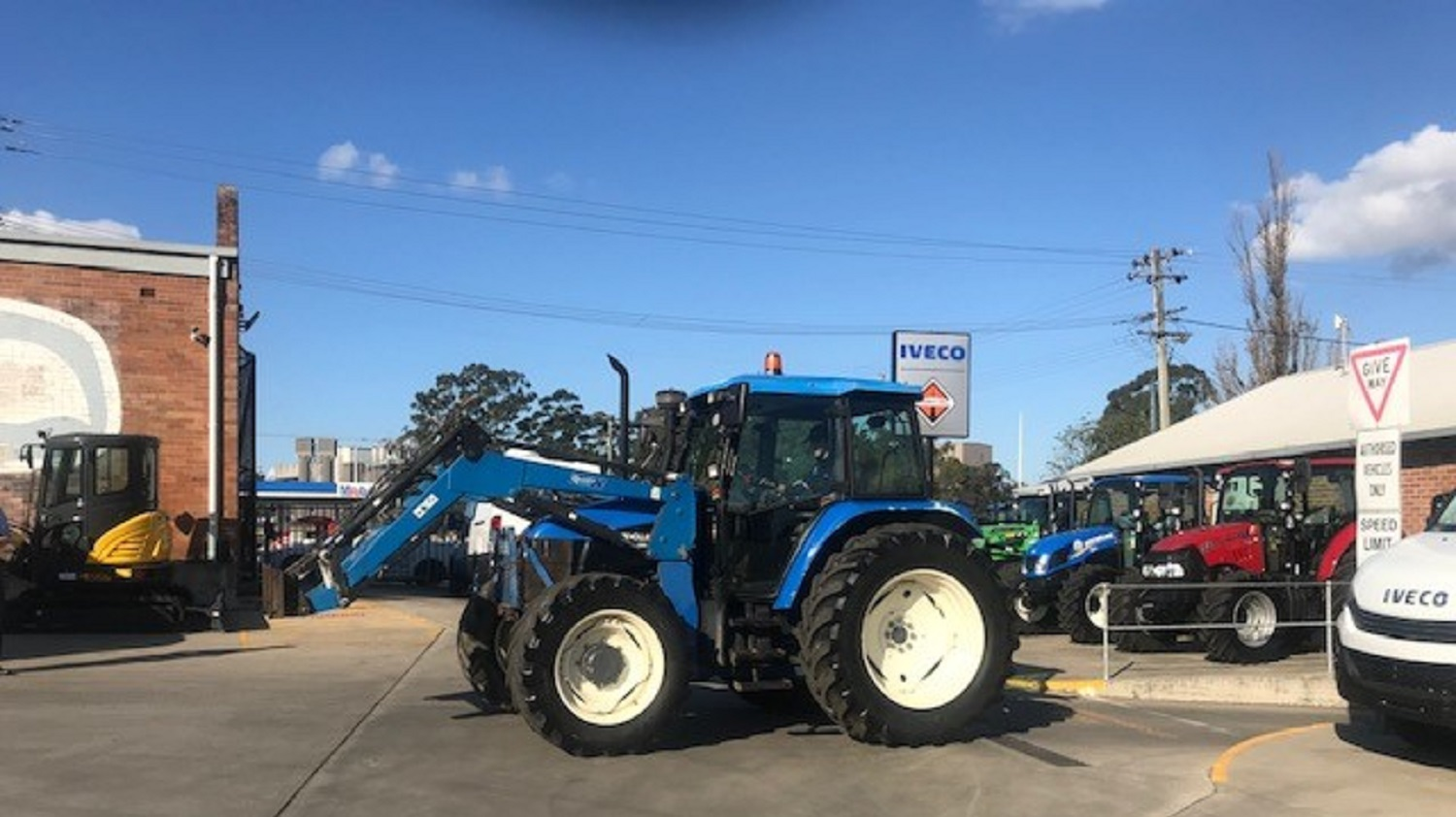 New Holland TS110 CAB Tractor