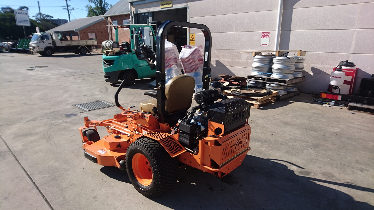 Scag Turf Tiger Zero Turn Mower